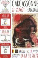 Tauromachie - FERIA 2016 De Carcassonne - A4 - Afiches