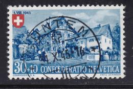 Heimat Schweiz BE GUNTEN 1945-10-01 Zu#PP29 Vollstempel - Pro Patria