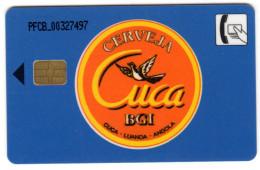 ANGOLA REF MV CARDS ANG-07 150U GORILLE - Angola