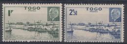 N° 215 Et N° 216 - X X - ( C 231 ) - Togo (1914-1960)
