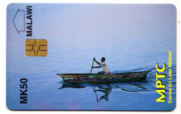 MALAWI REF MV CARDS MLW-01 MK50 LAKE MALAWI NEUF - Malawi