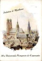 ESPÉRANTO - Carte Postale Du Congrès De Munich En 1951- A Voir - L 1093 - Esperanto