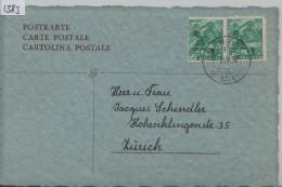 1938 Pilatus 202z - Stempel: Arnegg (St. Gallen) - Suisse
