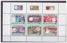 Sint Maarten 2011 Papermoney Quatar Gambia Botswana Slovakia MNH Tab - Curaçao, Nederlandse Antillen, Aruba