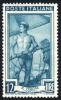 Italia Al Lavoro - 1950 - 12 Lire Verde Azzurro (Sassone 640MG) MNH** - 6. 1946-.. Repubblica