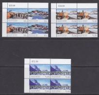 AAT 2004 50th Anniversary Base Mawson 4v (1.00+1.45$ Bl Of 4, 50c 2x2v)  ** Mnh (31579) - Australisch Antarctisch Territorium (AAT)