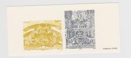 2012 - GRAVURE OFFICIELLE - Orgue De Saint-Jacques De Lunéville - N° YT : 4708 Et 4709 - Epreuves De Luxe