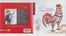 COLLECTOR De 2012 - LES 50 ANS DU COQ D'ALBERT DECARIS - France