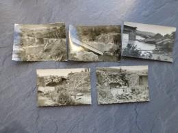 ALGERIE Saint-Antoine Vers 1960, Lot De  5 Photos, Catastrophe (inondations ?)  ; Ref 028 CP 07 - Afrique