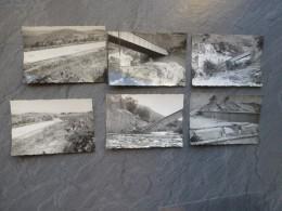 ALGERIE Saint-Antoine Vers 1960, Lot De  6 Photos, Catastrophe (inondations ?)  ; Ref 030 CP 07 - Afrique