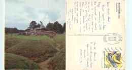 Newfoundland Park, Beaumont Hamel, France Postcard Posted 1993 Stamp - France