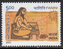 India MNH 2004, Panini, Grammarian Sanskrit Language Phonetics Theory Morpholog Physics Mathematics Astronomy Sun - Indien