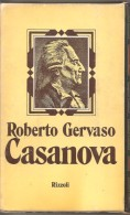 CASANOVA R. GERVASO  RIZZOLI - Storia, Biografie, Filosofia