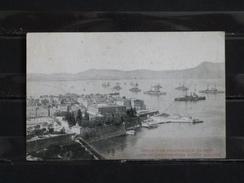 F03 - Corfou - Vue Panoramique Du Port - 1916 - Grèce