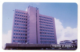 TANZANI REF MV CARDS TAN-TT-06 2000 TSHS BUILDING Carte Neuve - Tanzania