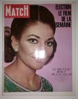 Paris Match N°1045 17/05/1969 Maria Callas - NASA Apollo 10 - Campagne Présidentielle - Sorcellerie - Sirhan Bichara - Allgemeine Literatur