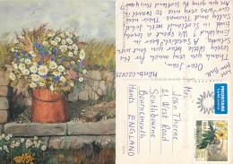 Caroline Grinda-Christensen, Sweden Postcard Posted 2002 Stamp - Suède