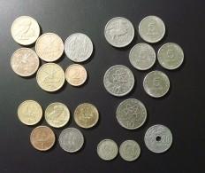 Grèce, Lot De 21 Pièces De 0.50 A 10 DRACHMES - Greece