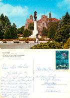 Kalemegdan Park And Fortress, Beograd, Serbia Postcard Posted 1970 Stamp - Serbia