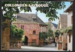 COLLONGES LA ROUGE Carte à Système Complète (Yvon) Corrèze (19) - France