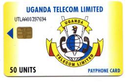 OUGANDA REF MV CARDS UGA-UT-03