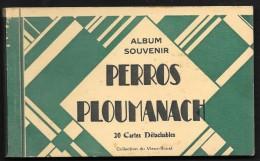PERROS PLOUMANACH Carnet 20 CPA Complet (Vieux Rouet) Côtes D´Armor (22) - Perros-Guirec