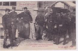 A La Schlucht - En Chien De Faïence - Avant La Guerre De 1914 - Zoll