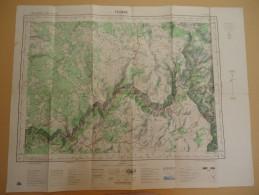 Carte De France Au 50 000 - Lozère - Florac   - Feuille XXVI - 39  - 1969 - Cartes Géographiques