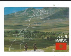CPM  MAROC Infini Paysages Grandioses De L'atlas 1993 Neuve TBE Ed Createc Casablanca - Maroc
