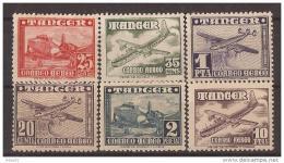 TA166-L658.Tanger Spanish.Tanger Espagnol.TANGER ESPAÑOL Aereo.AVIONES.1948.(Ed 166/1**) Sin Charnela.MAGNIFICA - Marruecos Español
