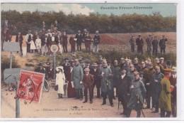Officiers Allemands à La Frontière De Mars-la-Tour Le 16 Août - Zoll