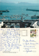 St Peter Port, Guernsey Postcard Posted 1989 Stamp - Guernsey