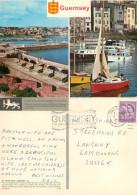 St Peter Port, Guernsey Postcard Posted 1967 Stamp - Guernsey