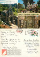 Shell Chapel, Les Vauxbelets, Guernsey Postcard Posted 1996 Stamp - Guernsey