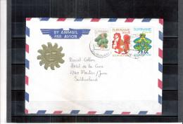 Lettre Du Suriname Vers La Suisse (à Voir) - Surinam