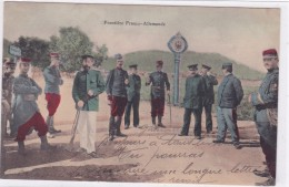 Frontière Franco-Allemande - Zoll