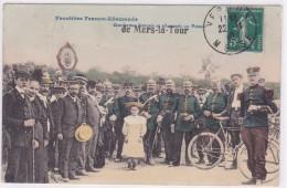 Frontière Franco-Allemande - Gendarmes Français Et Allemands Au Poteau De Mars-la-Tour - Zoll