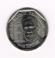 °°° FRANKRIJK 2 FRANC 1995  LOUIS  PASTEUR - France