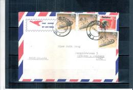 Cover From Zimbabwe To Switzerland 1991 (to See) - Zimbabwe (1980-...)