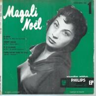 "45 Tours EP - MAGALI NOËL - PHILIPS 432044 -  "" LE RIFIFI  "" + 3 - Vinyles"