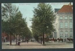 Groet Uit Roermond. Willem II   Singel. Gendarmes à Cheval. Belle Carte Animée. 2 Scans. - Roermond