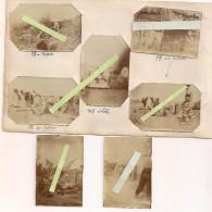 Artillerie 46eme Régiment Canons De 95mm 105mm 75mm En Casemate Aa Flak 7 Vues   Poilus 14-18 Ww1 Wk1 - War, Military