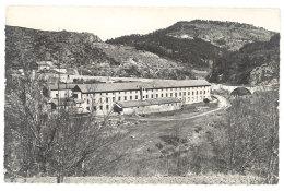 Cpsm Le Monastier ( Haute-Loire ), L'usine à Soie - France