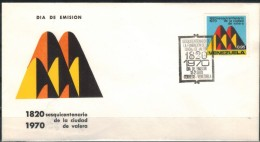 VENEZUELA 1970 - Beleg Mit MiNr: 1824 - Venezuela