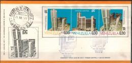 VENEZUELA 1972 - Beleg Mit MiNr: 1902-1904 Komplett - Venezuela