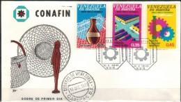 VENEZUELA 1973 - Beleg Mit MiNr: 1958-1960 Komplett - Venezuela