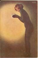 Illustrateur Raphael Kirchner-maud Cambrioleuse-grace Feminine Erotique--cpa - Kirchner, Raphael