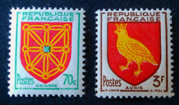 ARMOIRIES DE PROVINCES 1954 - NEUFS ** - YT 1000 + 1004 - Unused Stamps