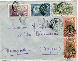 MADAGASCAR LETTRE DEPART NOSY-BE 21 JUIL 39 MADAGASCAR POUR LA FRANCE - Madagascar (1889-1960)