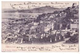 GIBRALTAR GIBILTERRA  F/P VIAGGIATA 1907 SPEDITA A ROMA - Gibilterra